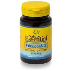 Omega-3 500 Mg (epa 35% Dha25%) Nature Essential, 50 Perle