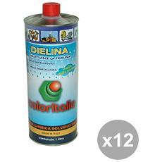 Set 12 Dielina Smacchiatore 1 Lt. Detergenti