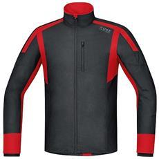 T-shirt Uomo Air Ws Shirt Long S Nero Rosso