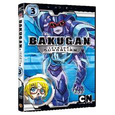 Dvd Bakugan-invasori Gundalian-st. 01 #03