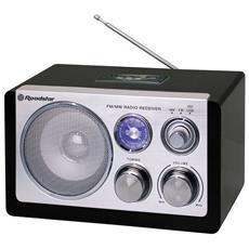 HRA-1325US, Personale, Analogico, FM, MW, AC, Batteria, 87,5 - 108 MHz, Blu