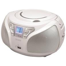 TCU-206, Digitale, FM, Lettore, CD, CD-R, CD-RW, CA / Batteria, LCD