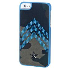 Cover Camo Fluo Ip5/5s Blue