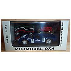 Lt01 Lola T70 Mk Iii Nurburgring Blu 1/43 Modellino