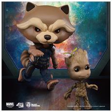 Figure Guardiani Galassia Rocket & Groot