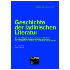 Geschichte der ladinischen Literatur
