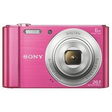 SONY - DSC-W810 Rosa Sensore CCD 20Mpx Zoom Ottico 6x...