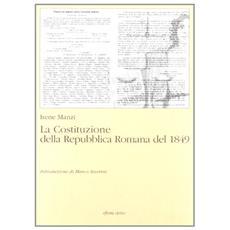 La costituzione della Repubblica romana del 1849