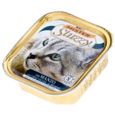 Cibo per gatti Cat con Manzo 100 gr