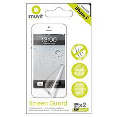 kit 2 screen protector ip5/5s