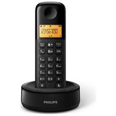 """D1301WA Telefono cordless con Display 1,6"""" Retroilluminazione - Nero"""