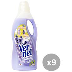 Set 9 Ammorbidente 1,5 Lt. Freschezza Lavanda Detergenti Casa
