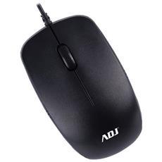 Mouse USB Mo5 3d Ottico 1000 DPI Colore Nero