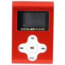 LETTORE MP3 4GB RED