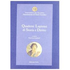 Quaderni lupiensi di storia e diritto