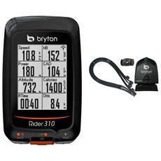 Ciclocomputer Rider 310c Gps Con Sensore Di Cadenza Compatibile Ant+ Br310c