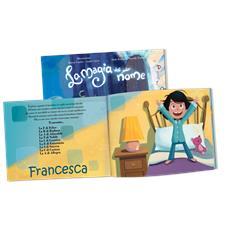 La Magia Del Mio Nome - Libro Personalizzato Per Bambine - Protagonista Bambina Mora - Contattaci per personalizzare