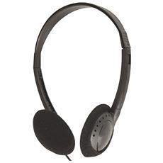 Cuffie senza Microfono Cablato 825-26 Colore Nero