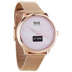 Smartwatch Soe XW Pure 54017 Display OLED con Bluetooth per Fitness Colore Oro Rosa - Europa