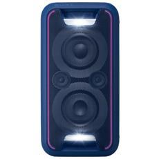 Sistema Audio 2 Vie GTK-XB5 Bluetooth NFC colore Blu