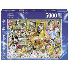 Puzzle 5000 Micky L'artista