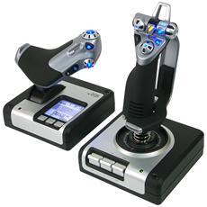 Saitek Pro Flight X52 Flight System - Joystick e acceleratore - cablato