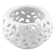 Set 6 Porta Candela Ceramica Cm8 Decorazioni