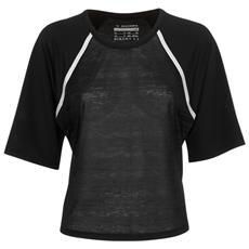 T-shirt Donna L Ss Nero Xs