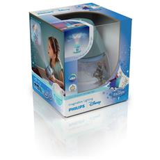 Luce Notturna con Sensore Frozen Blu 11.5 x 11.5 x 11.8 cm 717690816