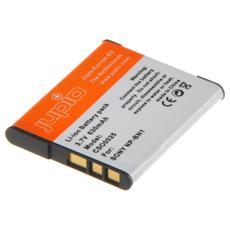 630mAh Li-ion, Ioni di Litio, Fotocamera, Grigio, Arancione, Sony DSC-TX5, DSC-TX7, DSC-TX9, DSC-T99, DSC-W310, DSC-W320, DSC-W330, DSC-W350, DSC-W360, DSC-W380,