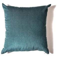 Cuscino Da Arredamento 45x45 In Velluto Melange' Colore Ottanio