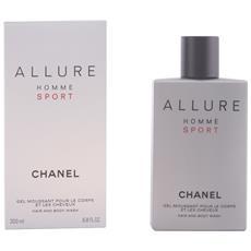 Allure Homme Sport Gel Moussant Cheveux & Corps 200 Ml
