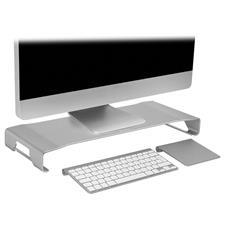 Supporto per Monitor Stand in Alluminio Colore Argento