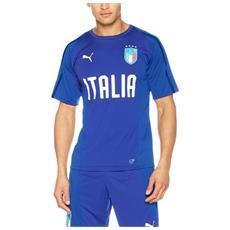 Figc Italia Training Jersey Ss Jr 10 Maglia Calcio Cm 140