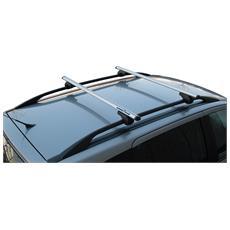 Coppia Barre Aerodinamiche In Alluminio 120 Cm Per Mancorrenti