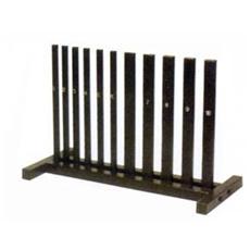 Porta Manubri verticale a 10 colonne