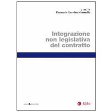 Integrazione non legislativa del contratto