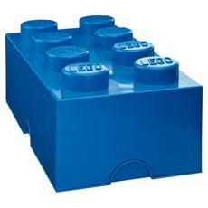 Scatola Grande Mattoncino Blu LEGO