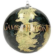 Game Of Thrones Map And Logo Xmas Ball Decorazioni Natalizie