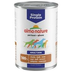 Almo Single Protein Cane, Con Vitello Gr. 400