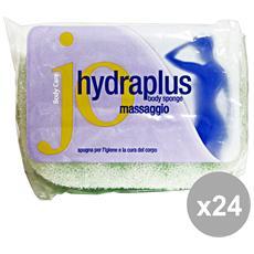 Set 24 Hidraplus Spugna Bagno Massaggio Art. 0256 Accessori Per Il Bagno