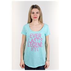 T-shirt Donna Light Jersey Azzurro Variante 1 S