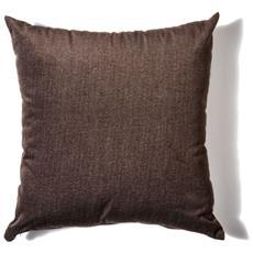 Cuscino Da Arredamento 45x45 In Velluto Melange' Colore Caffe'