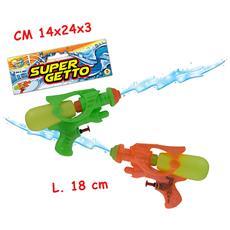 Super Getto - Pistola Ad Acqua 18 Cm