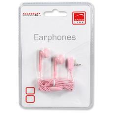 NDS Lite™ Earphones, pink Rosa Intraurale cuffia