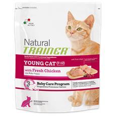 Cibo per Gatti Young Cat con Pollo Fresco 300 gr
