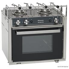 Cucina con forno a gas Smev Moonlight 2 fuochi