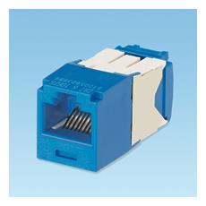 UTP RJ45 TG-MiniJack Cat6a Blue RJ45 Blu cavo di interfaccia e adattatore