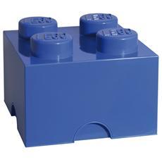 Contenitore con Bottoni Blu