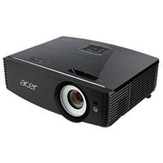 Proiettore P6200S DLP3D XGA 5000 ANSI Lumen Rapporto di contrasto 20,000:1 HDMI / VGA / USB